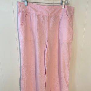 Lilly Pulitzer Baby Pink Pants with pockets